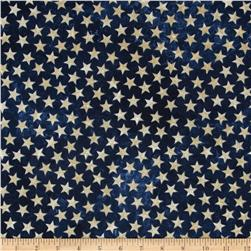 Stonehenge Land of the Free Stars Navy/Beige