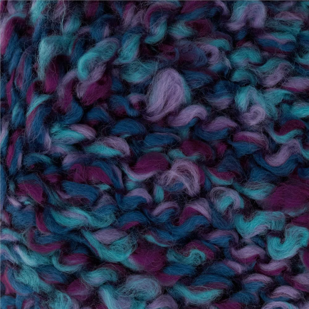 Bernat Soft Boucle' Yarn (46201) Luxury Shades