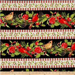 Christmas in the Wildwood Repeating Stripe Multi