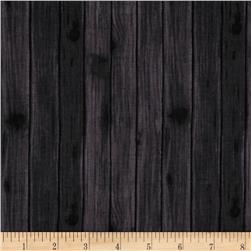 Northwoods Woodgrain Charcoal