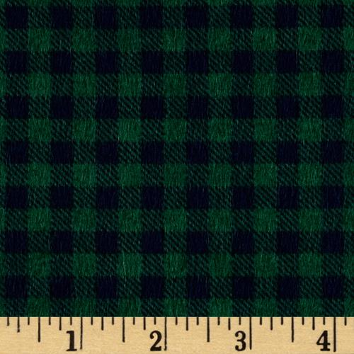 Mountain Lodge Flannel Buffalo Plaid Green/Navy