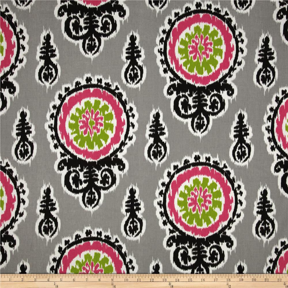Premier Prints Michelle Candy Pink/Chartreuse
