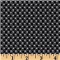 Quilt Camp Small Swirl Black