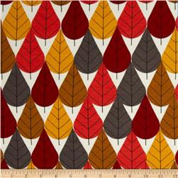 Birch Organic Interlock Knit Charley Harper Octoberama Fall