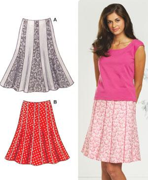 Kwik Sew Misses Skirts Pattern