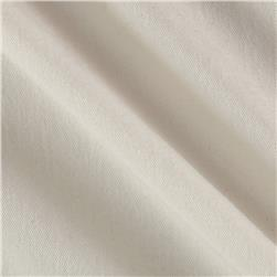 Cotton Brushed Micro Twill Ivory Fabric