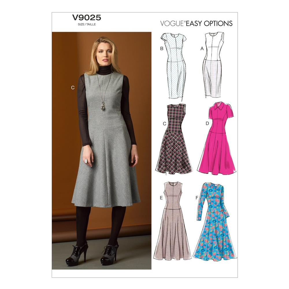 Vogue Misses'/Misses' Petite Dress Pattern V9025 Size A50
