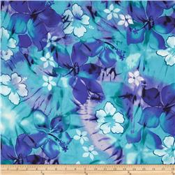 Tropical Floral Purple/Turquoise