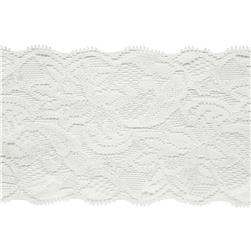 "7 1/2"" Laurie Chantilly Lace Trim Ivory"