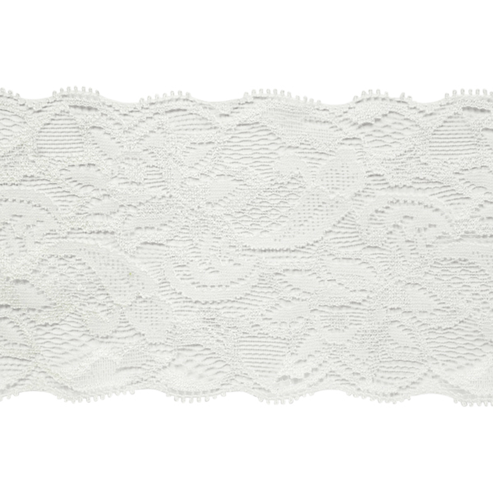 7 1/2'' Laurie Chantilly Lace Trim Ivory by Expo in USA
