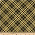 Chicopee Corduroy Simple Plaid Black