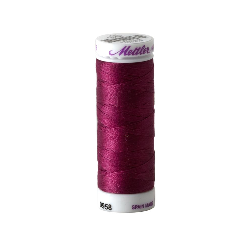 Mettler Cotton All Purpose Thread Boysenberry