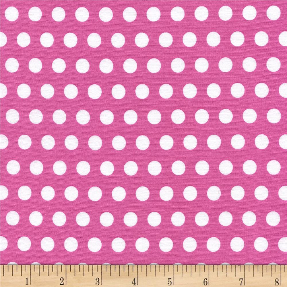 Timeless Treasures Tribeca Set Dot Pink