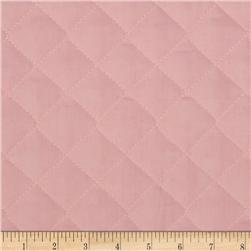 Double Sided Quilted Broadcloth Soft Pink Fabric