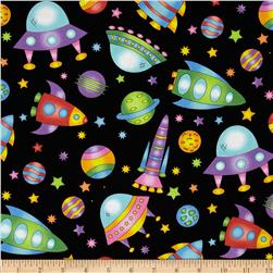 Welcome to My World Space Toss Black