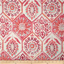 Tempo Indoor/Outdoor Tiles Coral/Berry