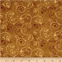Wind Symphony Wind Scroll Brown