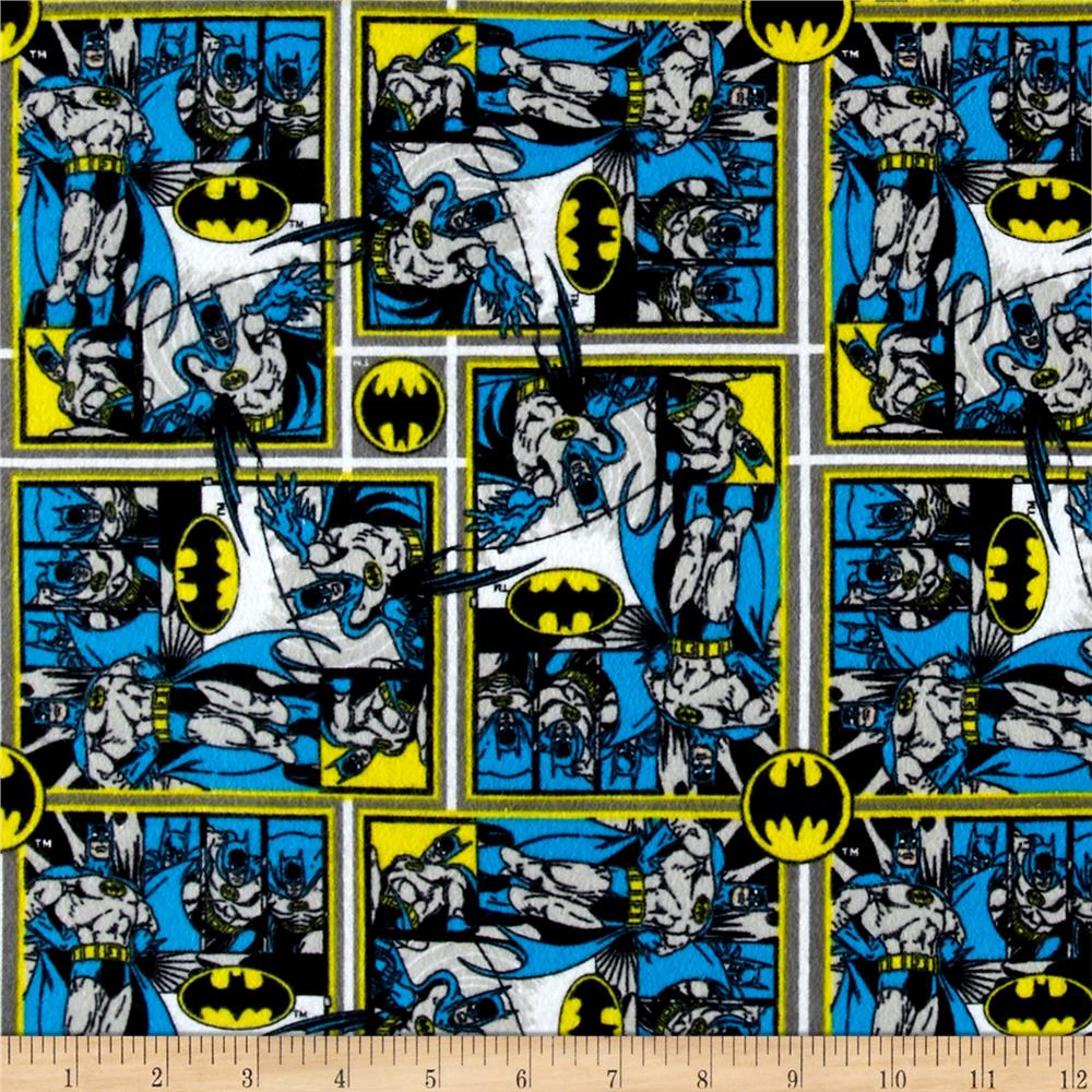 DC Comics Batman Flannel Multi