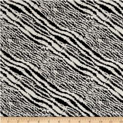 Designer Denim Zebra Stretch Cotton Twill Black/White