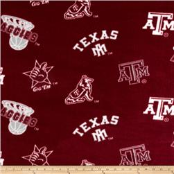 Collegiate Fleece Texas A&M Tossed Red/White