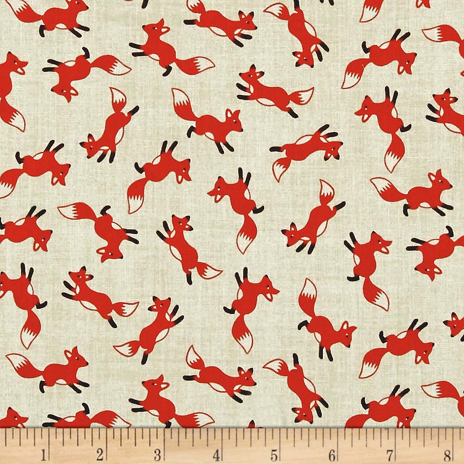 foxes yoga fabric - photo #12