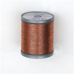 Coats & Clark Metallic Embroidery Thread 125 Yds. Copper