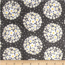 Adorn-it Minky Cuddle Pom Pom Dot Shadow Fabric