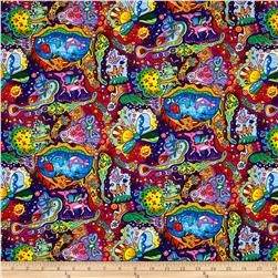 Timeless Treasures Mexican Joy Collage Multi