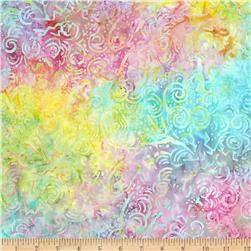 "Tonga Batik Sugar 108"" Wide Swirl Taffy"