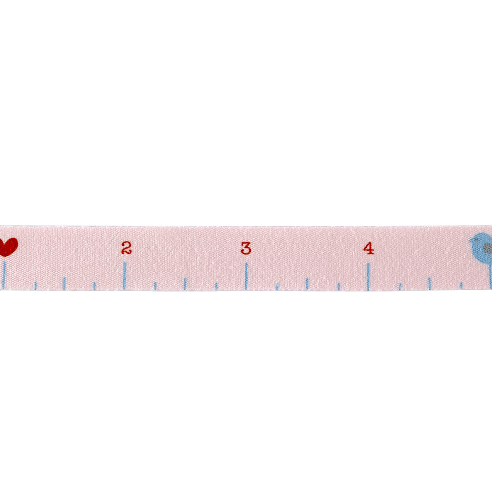 Riley Blake 1/2'' Cotton Tape Ribbon Ruler Baby
