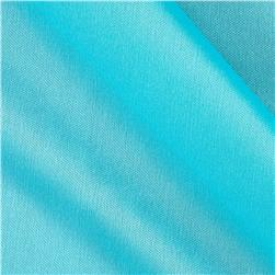 Nylon Activewear Knit Solid Turquoise