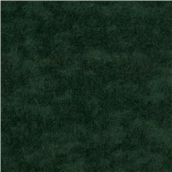 Luxury Burnout Fleece Green