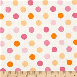 Moda Grow Full Bloom Dots Cloud Pinks