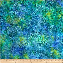 "Timeless Treasures 106"" Batik Quilt Back Feather Paisley Pizzazz"