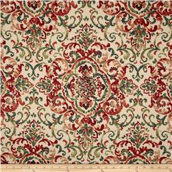 Duralee Home Quentin Damask Jewel/Multi Fabric