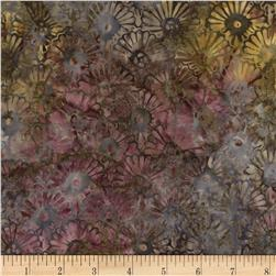 Timeless Treasures Tonga Batik Sonoma Carribean Fan Granite