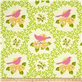 Heather Bailey Up Parasol Mockingbird Pink