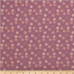 Memoirs of a Geisha Coin Texture Plum