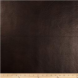Richloom Faux Leather Lofted Entity Chocolate