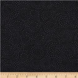 Timeless Treasures Pop Basic Circle Dots Charcoal