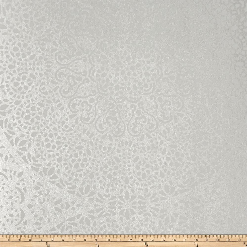 Fabricut 50115w Bellante Wallpaper Lace 01 (Double Roll)