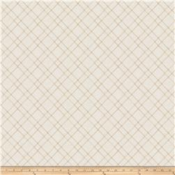 "Fabricut Calissa 112"" Sheer Natural"