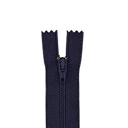 "Metal All Purpose Zipper 14"" Navy"