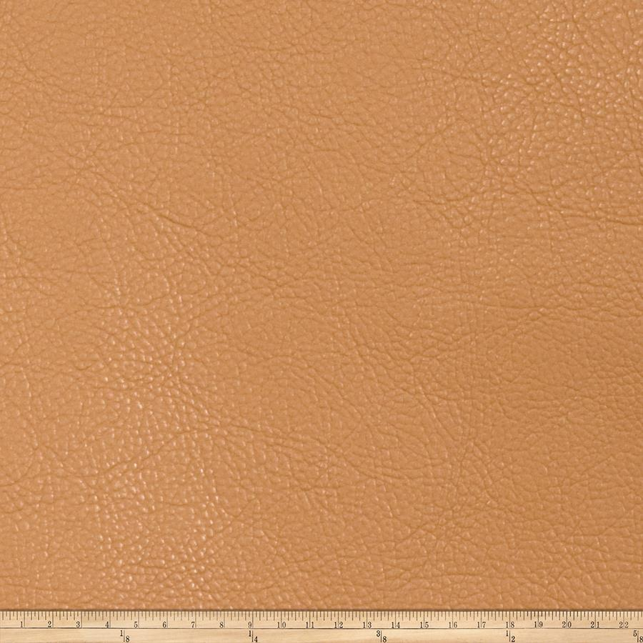 Fabricut Chemical Faux Leather Camel