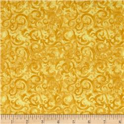 Rainforest Scroll Gold