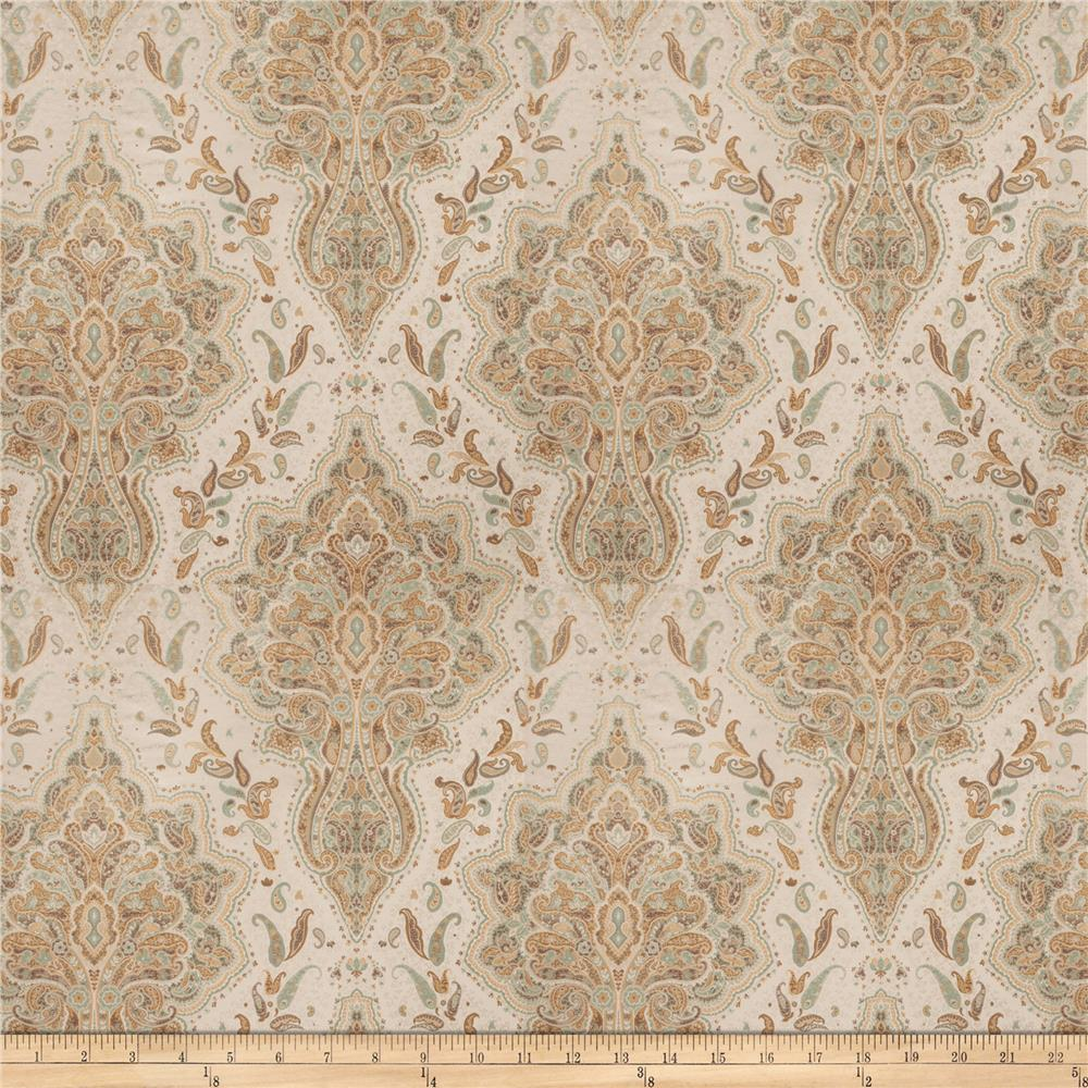 Fabricut heigl paisley satin jacquard opal discount for Jacquard fabric