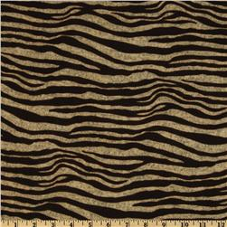 Viva Hatchi Sweater Knit Small Zebra Brown