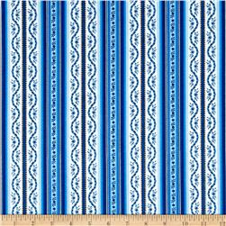 Botanica III The Royal Story Stripe White/Royal