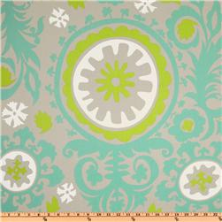 Premier Prints Suzani Twill Harmony/Green Fabric