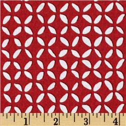 Retro Tile Red